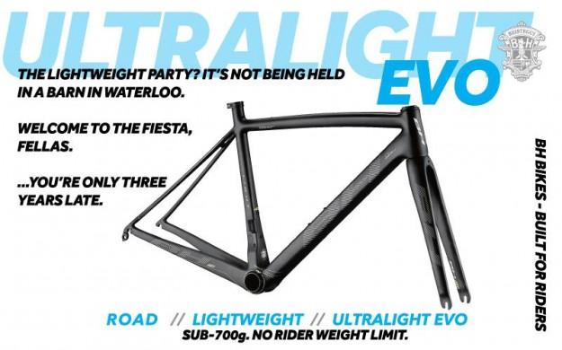 2015 BH Bikes Ultralight EVO