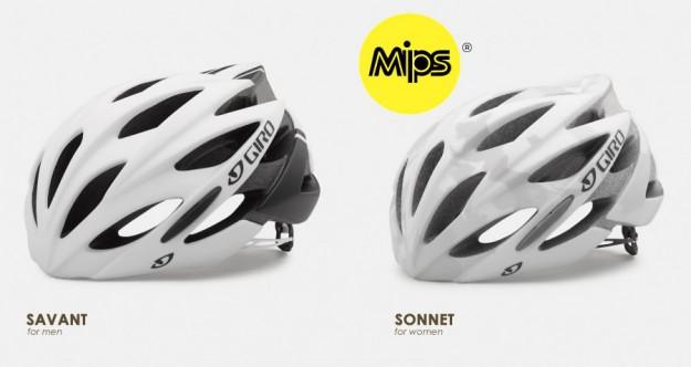 2015 Giro Savant & Sonnet MIPS Helmets