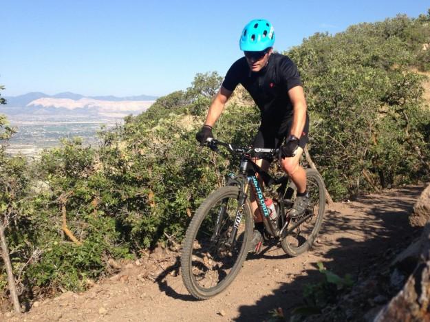 2015 Santa Cruz Tallboy C Review - Jason in Corner Canyon