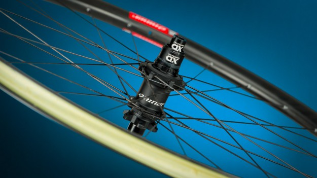 Niner Carbon MTB Wheels - Hub Close-up