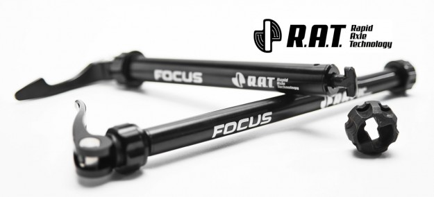 Focus Rapid Axle Technology (RAT) axles