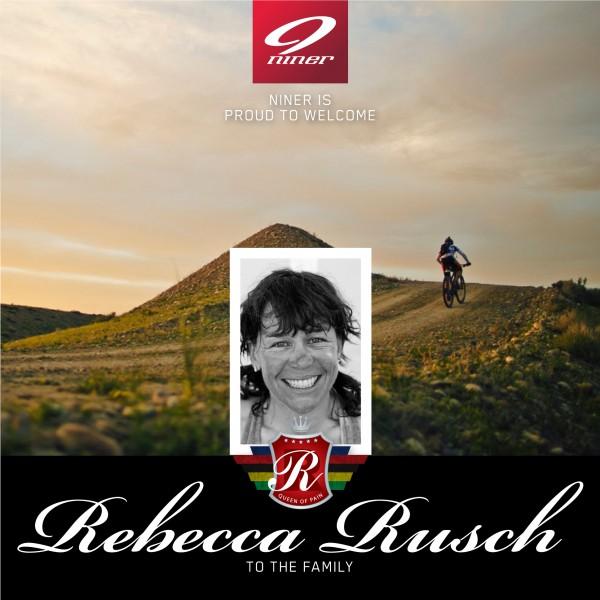 Rebecca Rusch Joins Niner Bikes Family