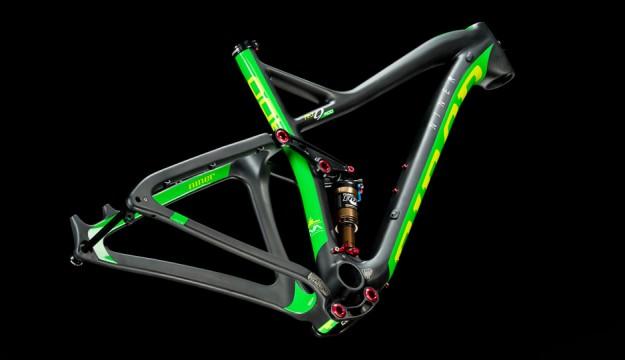 Niner RKT 9 RDO Frame - Green
