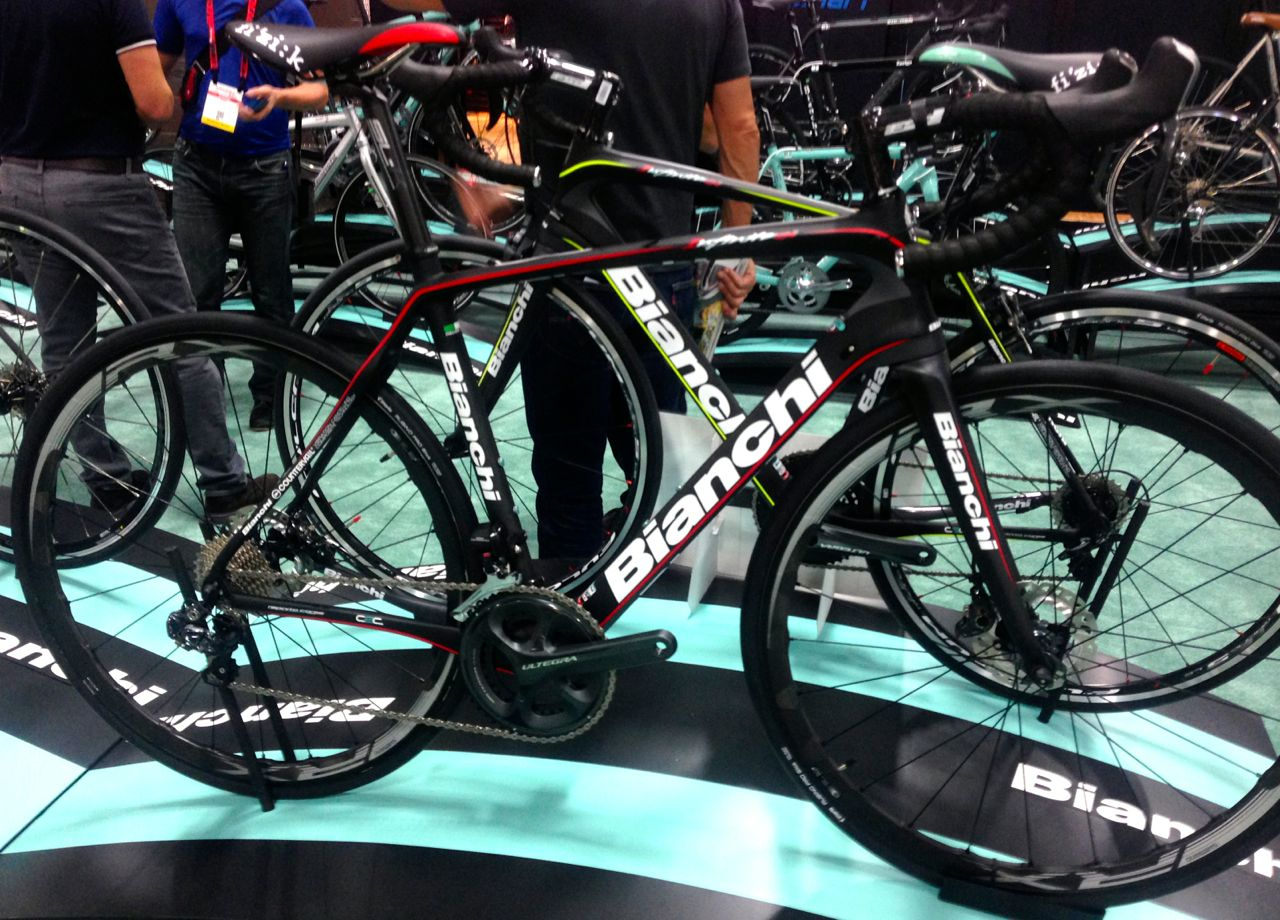 best of interbike  bianchi infinito cv disc