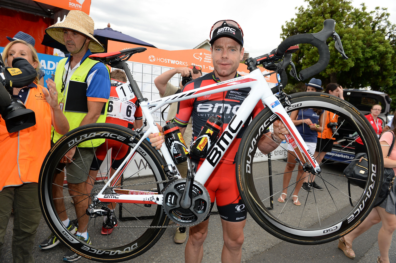Cadel Evans Special Edition Bmc Slr01 For Final Santos